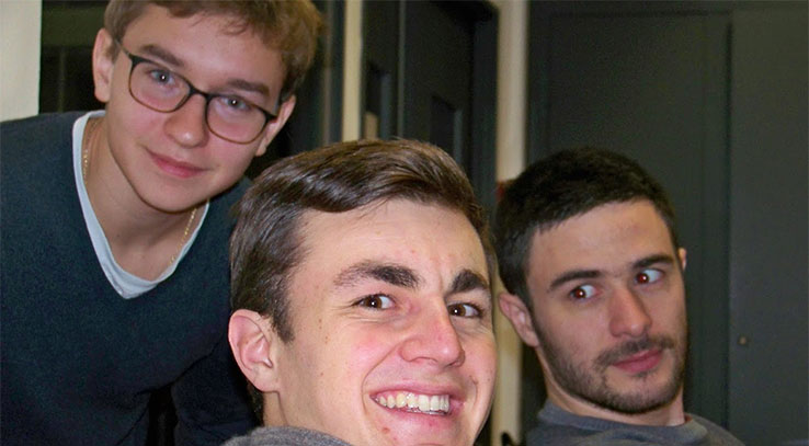 étudiants de Cergy